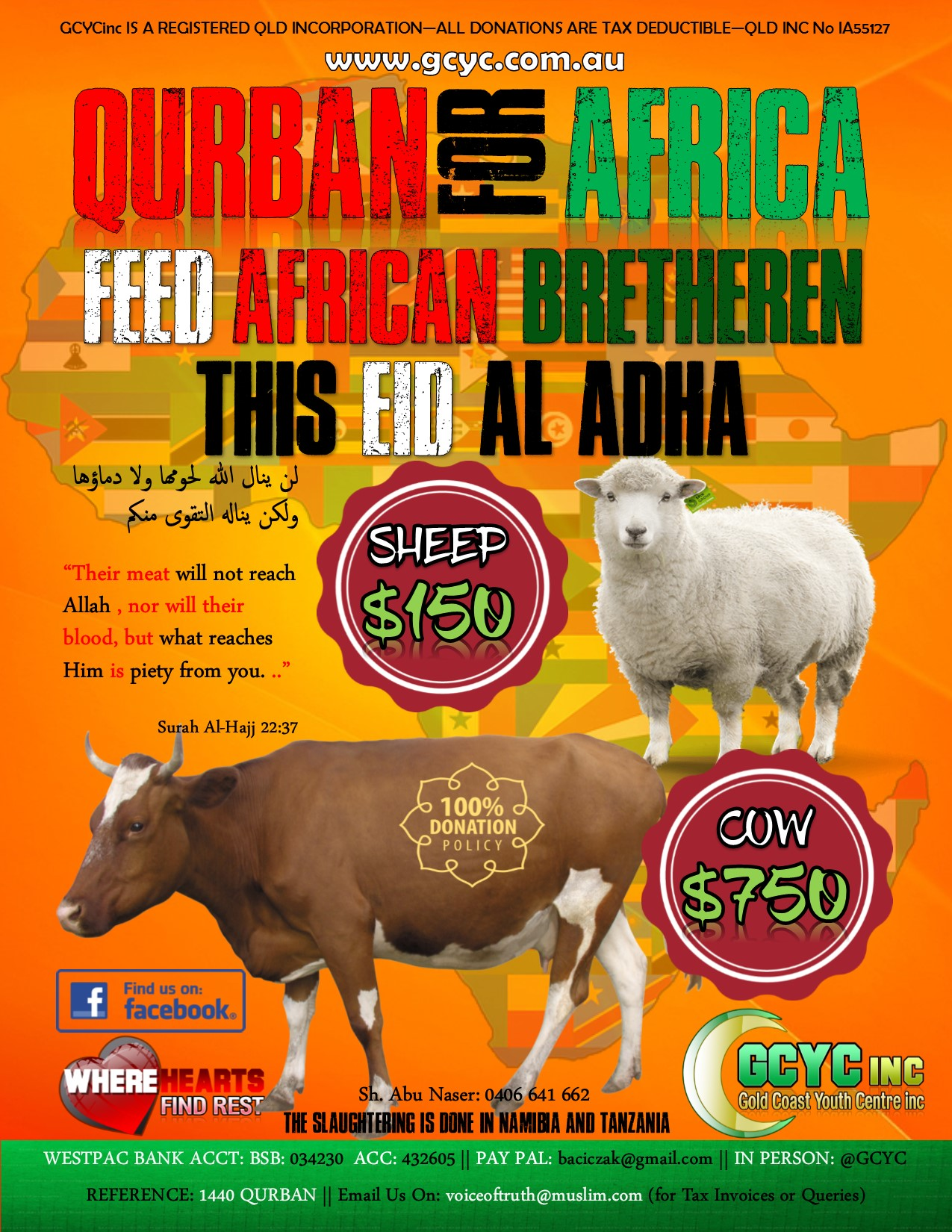 PAY FOR YOUR QURBAN